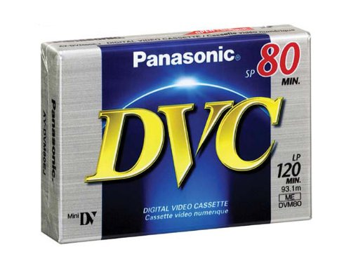 Panasonic AY-DVM80EJ MiniDV Cassette (80 Minute)