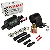 #3: Electric Fuel Pump Low Pressure 5-9 PSI 12V with Installation Kit E8012S (5-9 PSI)