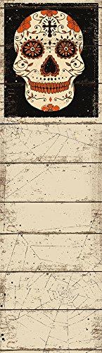 List Notepad - Cream Skull, Set of 2