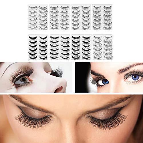Frcolor 8 Style Natural Eyelashes Lashes product image