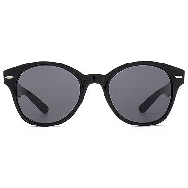 f074444454af M:UK Soho Preppy Round Sunglasses in Black MUK147834: Amazon.co.uk: Clothing