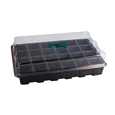 Yeaphy Seed Starter Trays kit, 3Pack Mini Robust Windowsill Greenhouse Shells with Cover Dome, with Instructions, Gardening Indoors and Outdoors, Growing Herbs, Flowers and Vegetables: Home & Kitchen