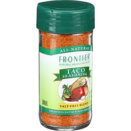 Frontier Taco - Taco Seasoning 2.33 Ounce (66 Grams) Jar
