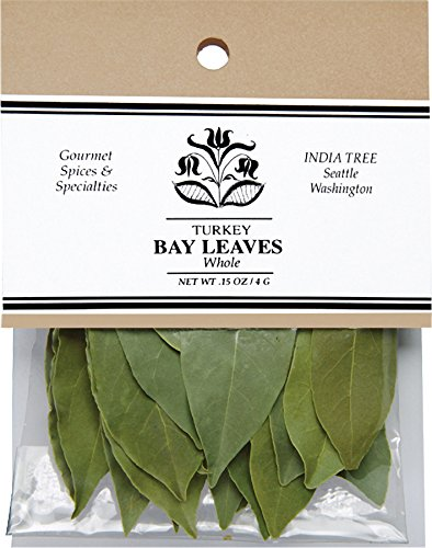 India Tree Bay Leaves, 0.15 oz (Pack of 4) by India Tree