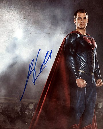 HENRY CAVILL (Man of Steel/Superman) 8x10 Male Celebrity Photo Signed In-Person from Iconographs