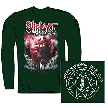 Slipknot - Longsleeve International Infection : Amazon.es: Música