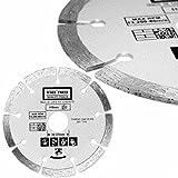 3 Segmented Diamond 7-1/4 Blade Fits Bosch Circular Saw Cut Concrete Paver Tile