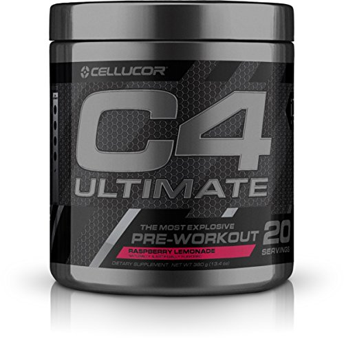 Cellucor, C4 Ultimate, The Most Explosive Pre-Workout Experience, Raspberry Lemonade, 20 Servings