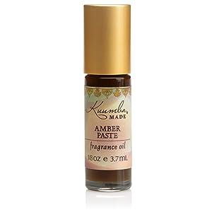 Kuumba Made Amber Paste Fragrance Oil   .125 Fl Oz / 3.7 ml (1-Unit)