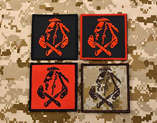 BritKitUSA NSWDG Red Squadron Patch The Tribe DEVGRU ST6 Red Team 4-Patch ()