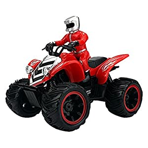 Velocity Toys ATV Road Racer Remote Control RC Car, Rechargeable, Big Size 1:10 Scale Ready To Run (Colors May Vary)