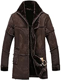 Mens Leather And Faux Leather Jackets Amazon Com