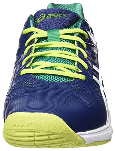 Asics Gel-Solution Speed 3, Scarpe da Tennis Uomo Multicolore (Indigo Blue/White/Lime)