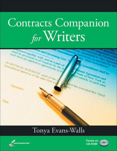Contracts Companion for Writers (Literary Entrepreneur series) by Brand: Legal Write Publications