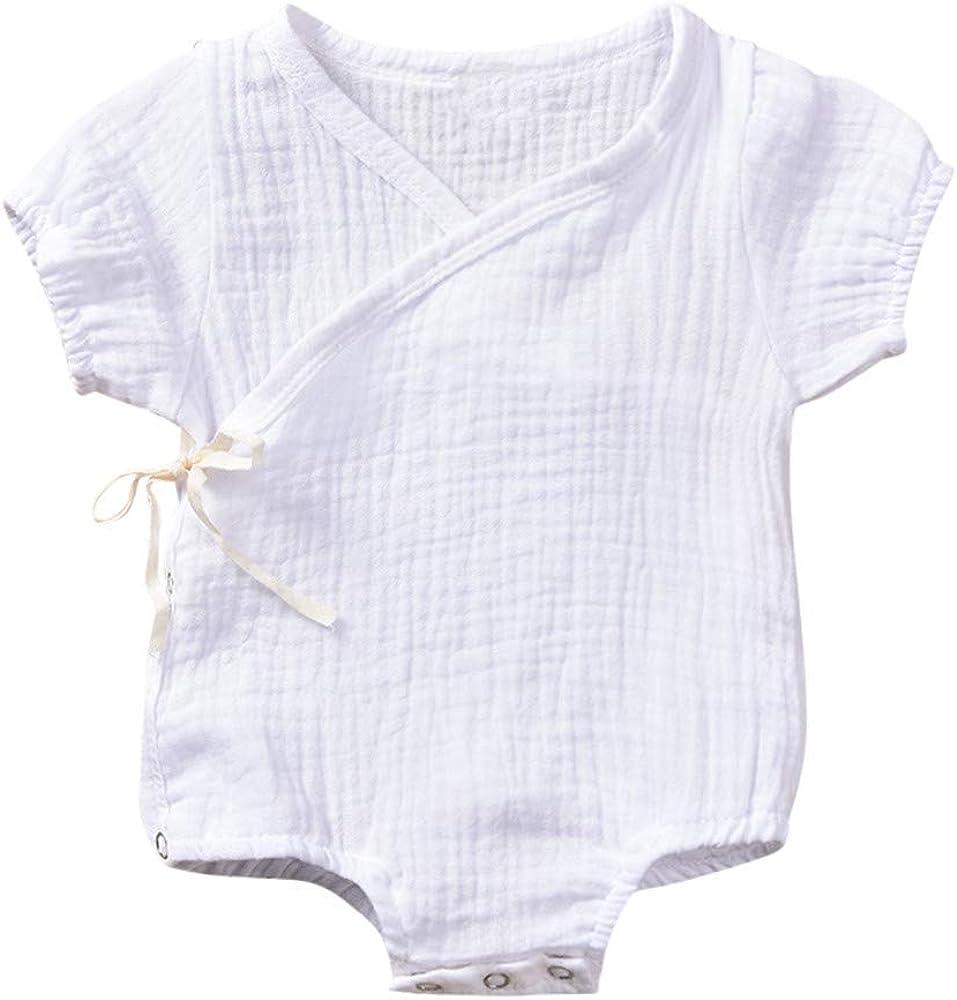 Baiomawzh Body Infantil para bebés, bebé Recién Nacidos con Volantes ...