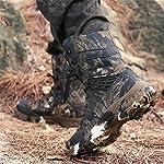 WOJIAO Outillage Tactique pour Hommes Bottes Militaires Quatre Saisons imperméable Antidérapant Chaussures pour Hommes… 14