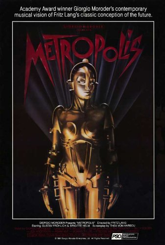 27 x 40 Metropolis Movie Poster
