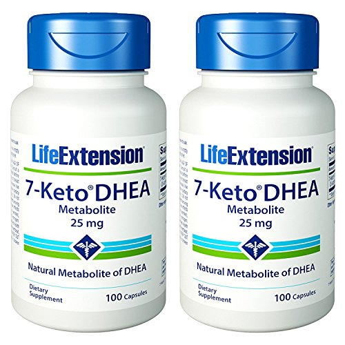 Cheap Life Extension – 7-Keto DHEA Metabolite 25 mg 100 caps (Pack of 2)