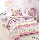 Best Kids Quilts - Golden Linens Twin Size Kids Bedspread Quilts Throw Review