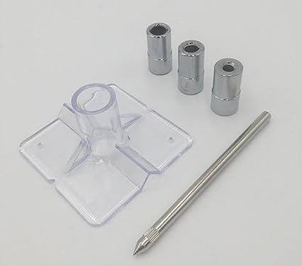Mini Pocket Hole Drill Dowel Jig Guide 6mm//8mm//10mm Woodworking Drilling Locator