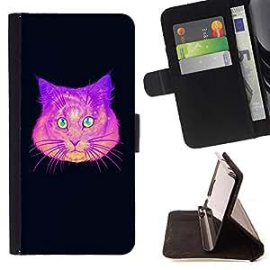 King Case - FOR HTC One M9 - in some other way - Prima caja de la PU billetera de cuero con ranuras para tarjetas, efectivo Compartimiento desmontable y correa para la mu?eca