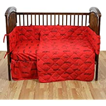 Arkansas 5 piece Baby Crib Set by College Covers