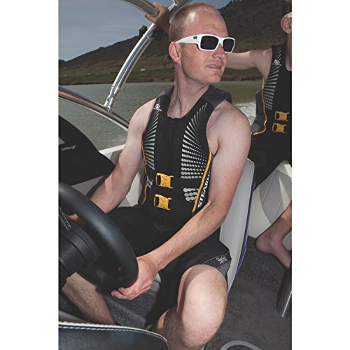 Stearns Men's V1 Series Hydroprene Life Jacket, Gold, Large