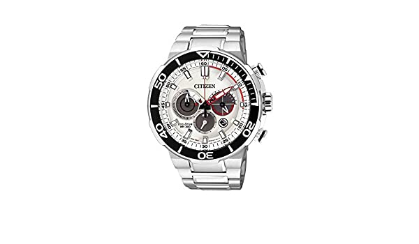 Amazon.com: Mens Citizen Eco-Drive Chronograph Divers Watch CA4250-54A: Watches