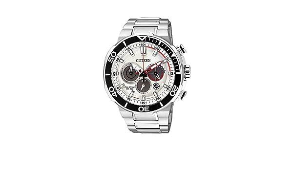 Amazon.com: Mens Citizen Eco-Drive Chronograph Divers Watch CA4250-54A: Watches