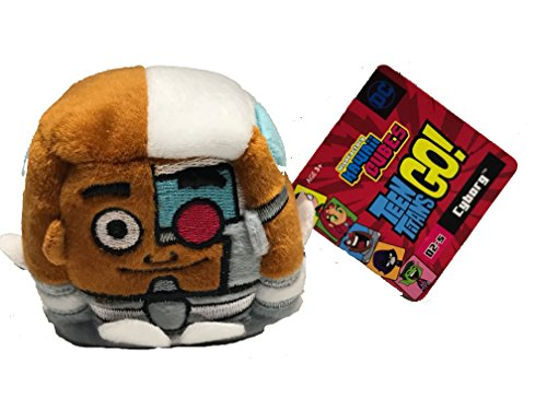 WISH FACTORY KAWAII CUBES TEEN TITANS GO CYBORG (Cyborg Go Titans Plush Teen)
