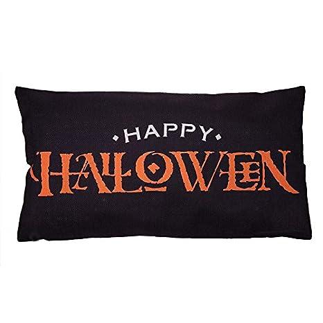 Trendyest Funda de cojín de Calabaza de Halloween con diseño ...