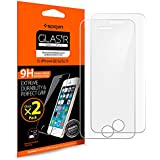 iPhone SE Screen Protector, Spigen® iPhone 5S / SE / 5C / 5 Glass [2 Pack] [Tempered Glass] Screen Protector [Easy-Install Wings] [Lifetime Warranty] - 2 Pack
