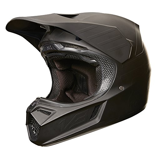 2019 Fox Racing V3 Matte Carbon Helmet-L