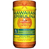 vegan shake mix - Hawaiian Spirulina Plant Protein Shake, 12.8oz – 16g Protein per serving – Natural Vanilla – Boosts Energy & Supports Recovery - Non-GMO, Vegan, Gluten Free