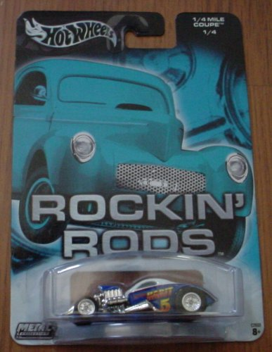 Rods Wheels Rockin Hot - Hot Wheels Rockin' Rods 1/4 Mile Coupe 1/4
