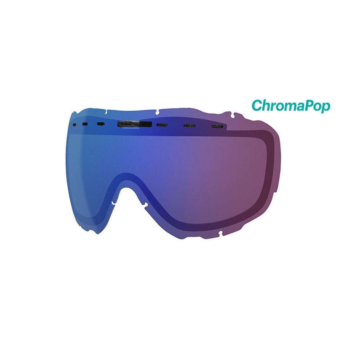 e31848adc895a Amazon.com   Smith Optics Prophecy Turbo Adult Replacement Lense Snow  Goggles Accessories - Chromapop Everyday Green Mirror One Size   Sports    Outdoors
