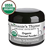 Organic Activated Charcoal Teeth Whitening Powder - The Only USDA Certified Organic. 100% Natural. Certified Gluten Free, Vegan, Cruelty Free