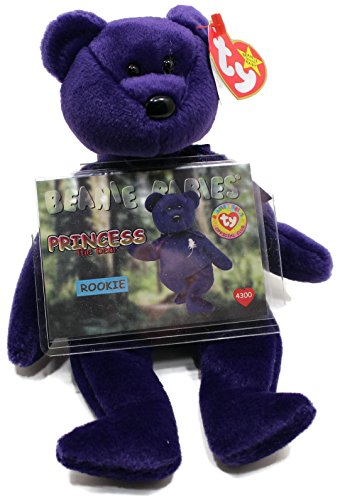 e4249890bc5 Princess Diana Ty Beanie Baby Bear - Mint w  Collectible - Import It All