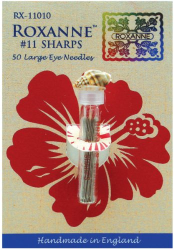 (Colonial Needle Roxanne Sharps Hand Needles (Pack of 50))