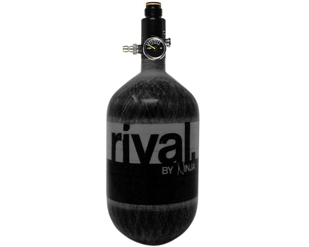 Ninja Rival Paintball Compressed HPA Air Tank (Black) by Ninja Paintball