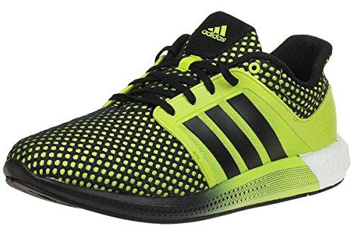 Adidas Performance Sport Baskets Chaussure De Course Boost M Solaire Chaussures Semi-jaune / Noir Jaune Demi
