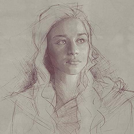 Game Of Thrones Daenerys Targaryen Khaleesi Limited Edition Art Print Sam Spratt