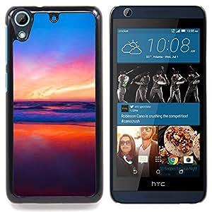 TikTakTok Funda Carcasa protectora para HTC Desire 626 - Colores en Sunset Beach