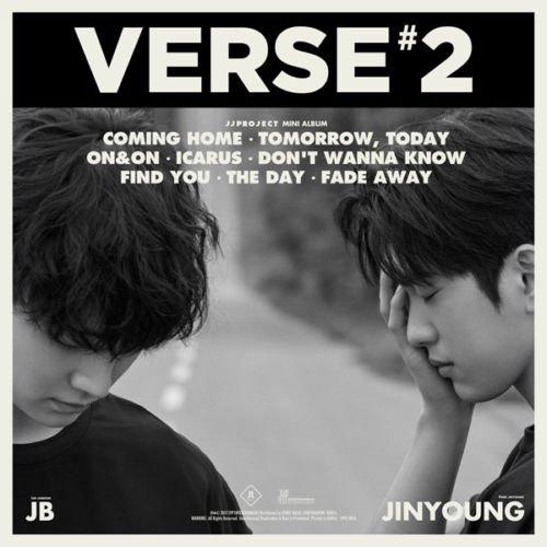 JJ PROJECT [VERSE 2] 2nd Album Random Ver CD+Photobook+3p Card+Lyrics+Tracking Number K-POP SEALED