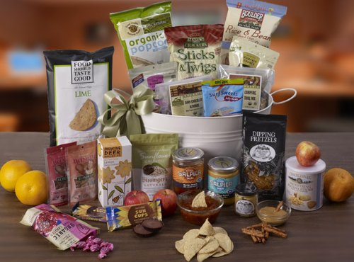 Fresh and Wholesome Gift Basket by Its Only Natural Gifts
