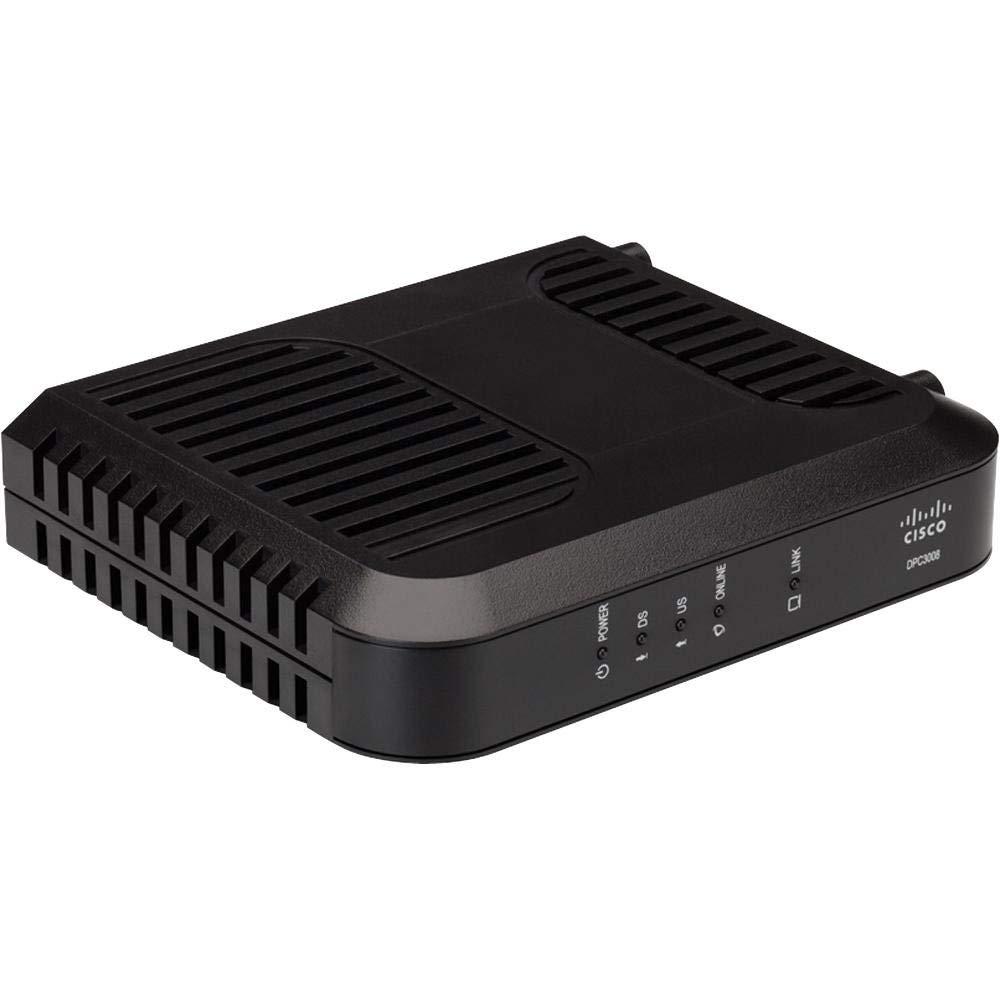 Cisco DPC3008 (Comcast, TWC, Cox Version) DOCSIS 3.0 Cable Modem (Renewed) by Cisco