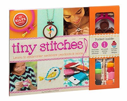 Klutz Tiny Stitches Craft Kit (Needle Embellishment)