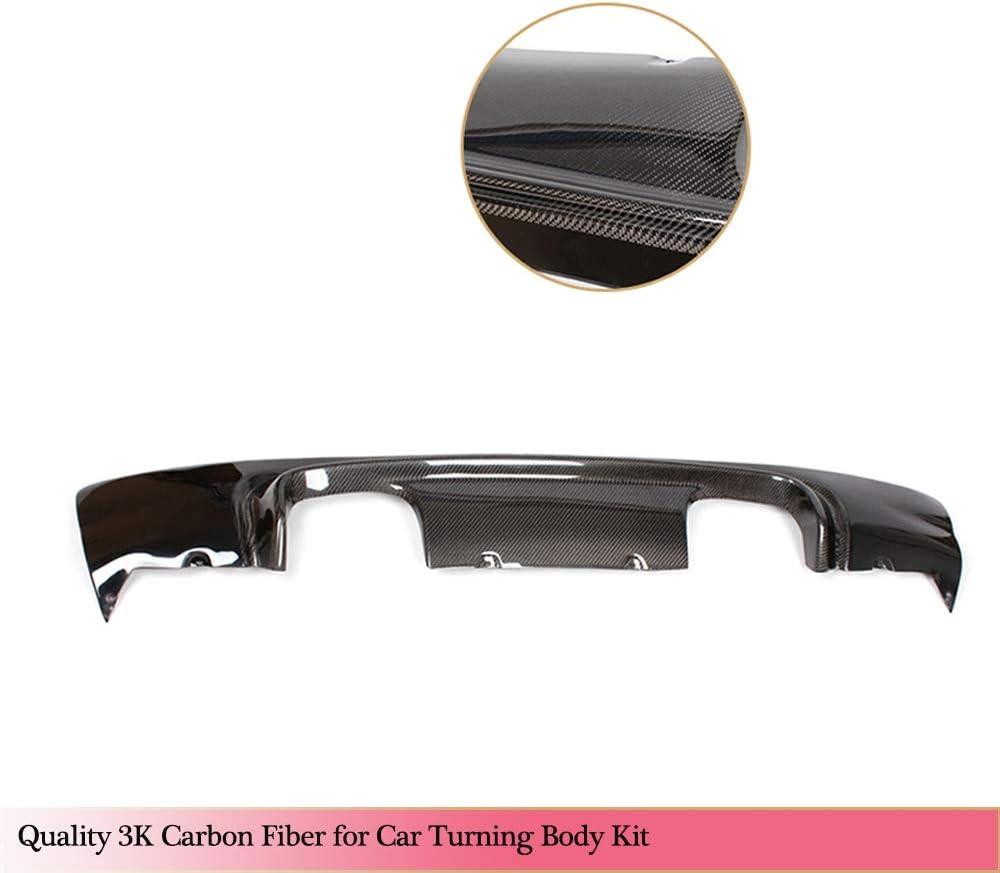 Carbon M3 Look SKNB Rear Diffuser Suitable For Bmw 3-Series E46 M3 Coup/é Cabrio 2000-2006 Carbon Fiber Cf Lower Bumper Lip Spoiler Body Kit M3 Look Carbon Fiber