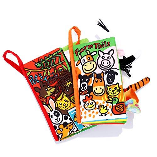 Jollybaby-Libro-Blando-de-Beb-Aprendizaje-y-Educativo-Libro-de-Tela