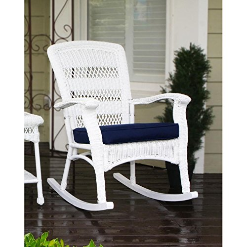 Plantation White Outdoor Chair - 7